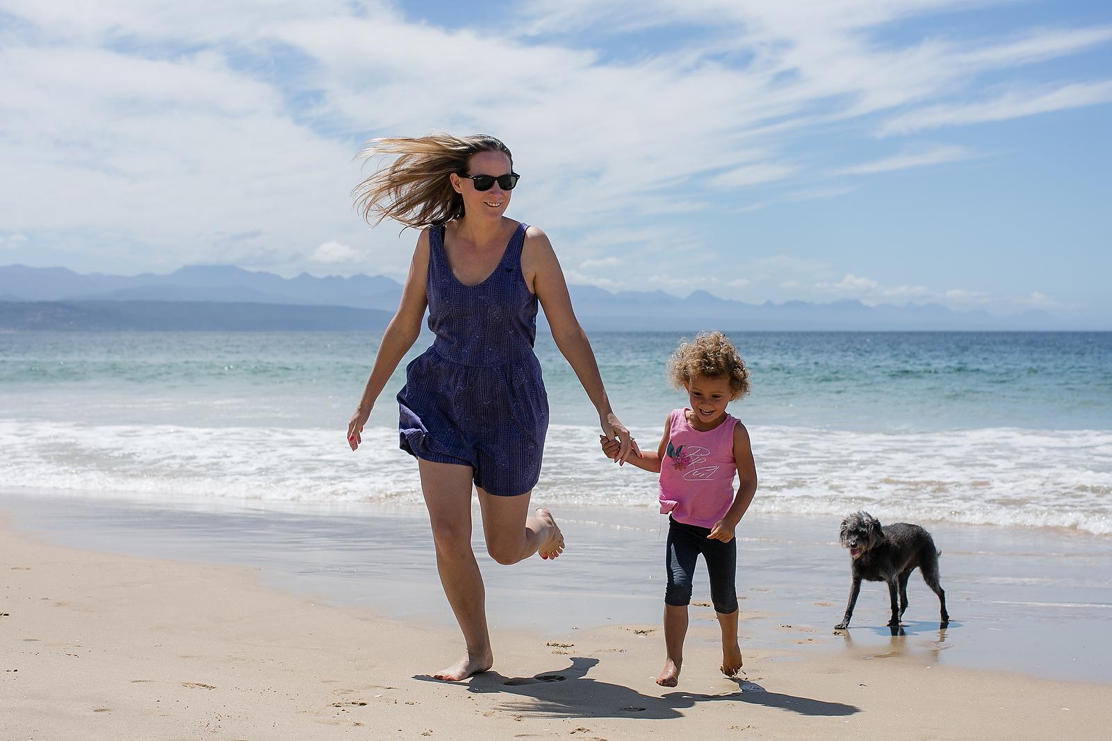 Plettenberg Bay family shoot for Segerius Bruce Coaching